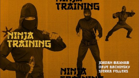 Jordan Maxham, Dave Bachinsky, & Sierra Fellers - Ninja Training - The Berrics