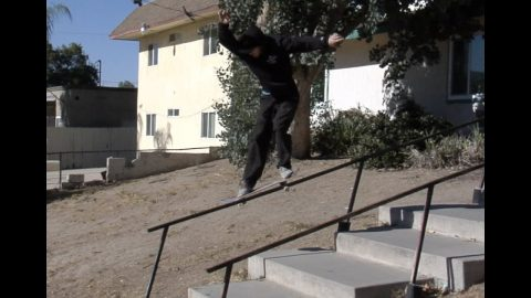Jordan Maxham Feeble LE Rail Raw Cut - E. Clavel