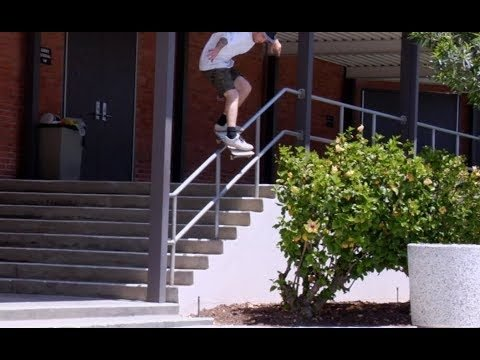 Jordan Maxham fs Feeble Pop Over Before Pole Raw Uncut - E. Clavel