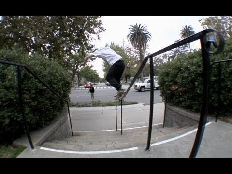 Jordan Maxham fs Feeble to bs Grind Line Raw Cut - E. Clavel