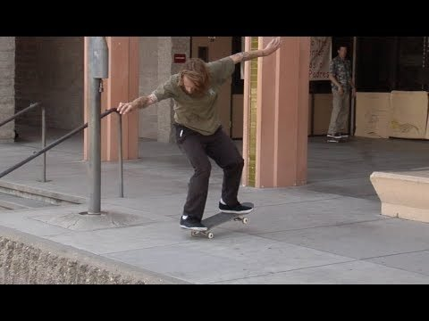 Jordan Maxham fs Krook to Nose Manual Raw Uncut - E. Clavel