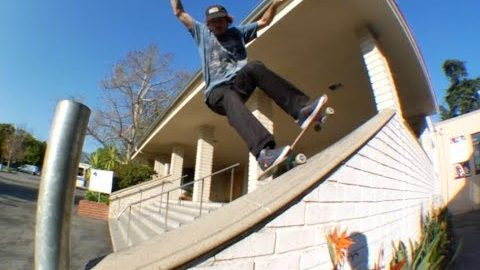 Jordan Maxham fs Nose Grind Pop Out Before Pole Raw Cut - E. Clavel