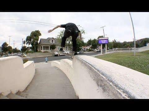 Jordan Maxham fs Shuv, Firecracker, Nose Slide Drop Nose Slide Raw Uncut - E. Clavel