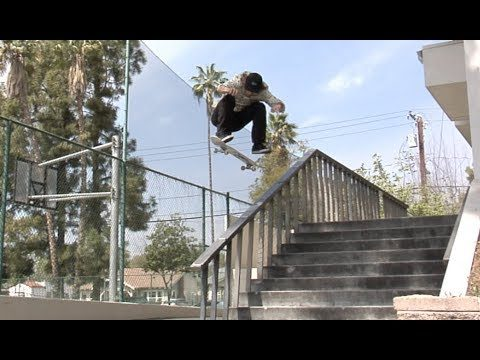 Jordan Maxham fs Shuv Over 11 Rail Raw Uncut - E. Clavel