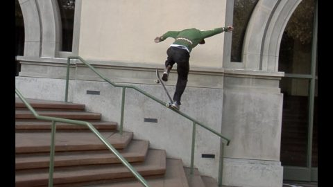 Jordan Maxham Gap Nose Grind Raw Cut - E. Clavel