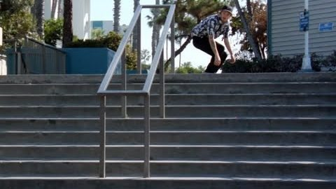 Jordan Maxham Lil Monsters 180 Nose Grind to Regs Raw Cut - E. Clavel