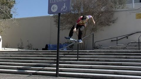 Jordan Maxham Lil Monsters Boardslide Pop Out Raw Cut - E. Clavel