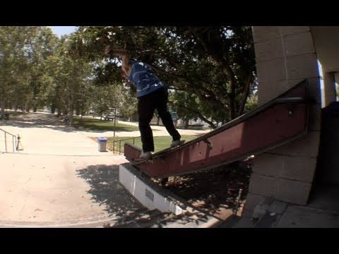 Jordan Maxham Nollie Shifty Heel to Boardslide Kink Rail Line Raw Uncut - E. Clavel