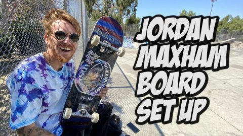 Jordan Maxham Skateboard Set Up & Interview !!! NKA VIDS | Nka Vids Skateboarding