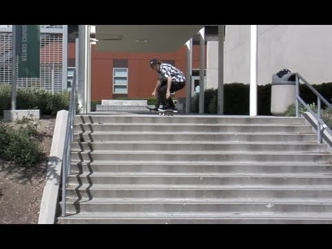 Jordan Maxham Switch fs Flip College 11 Raw Uncut - E. Clavel