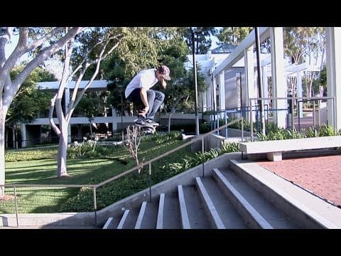 Jordan Rommel Bench Gap Over 10 Stair Raw Uncut - E. Clavel