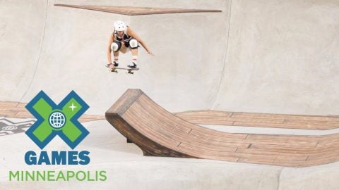 Jordyn Barratt wins Women's Skateboard Park silver | X Games Minneapolis 2017 - X Games