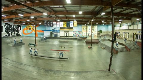 Jorge Simoes Bigspin Nosegrinding The Hubba, Among Other Things... | It Must Be Nice | The Berrics