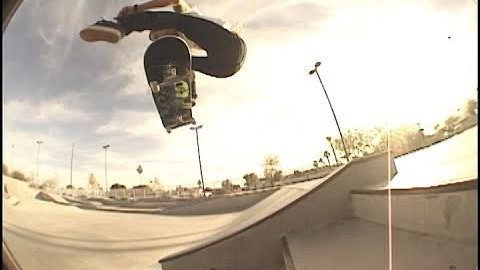 Josh Hawkins, Chad Bartie & Jared Huss Skate Arizona | A Happy Medium Skateboarding