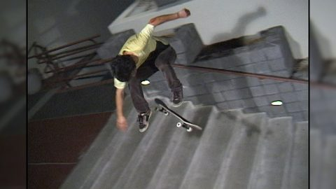 JOSH HAWKINS_Hardflip Camelback 11_RAW (2007) | A Happy Medium Skateboarding