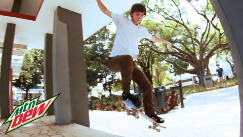 Josh Katz's Puerto Rico Skate Trip (Part 2) | Mountain Dew - Mountain Dew