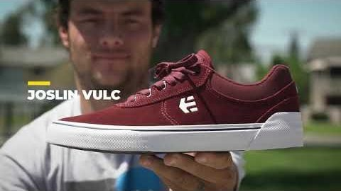 Joslin Talks Vulc: The Design & features of his etnies Joslin Vulc | etnies