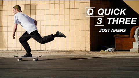 Jost Arens - Quick 3 | Pocket Skateboard Magazine