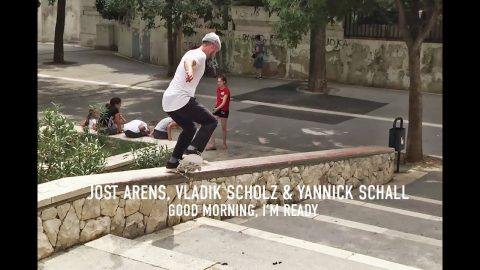 Jost Arens, Vladik Scholz & Yannick Schall Part in Titus Skateboards: GOOD MORNING, I'M READY | Titus