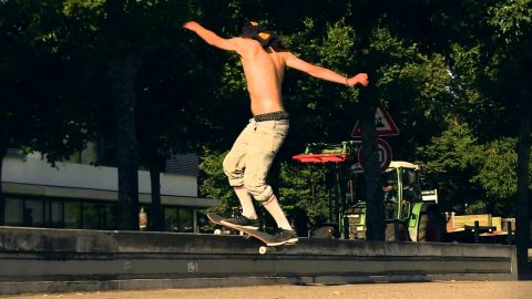 J'TE KIF - Trailer - grotesque skateboarding | what a grotesque life