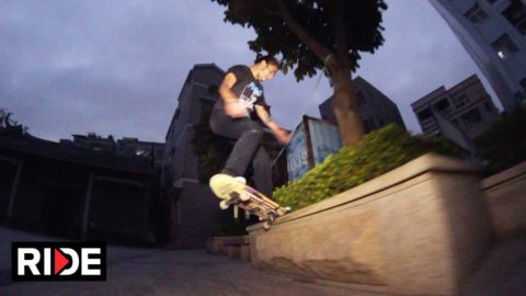Juan Carlos Aliste - Made in China Skate Edit - RIDE Channel