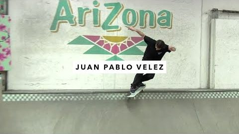 Juan Pablo Velez and Friends Ripping the TWS Park | TransWorld SKATEboarding