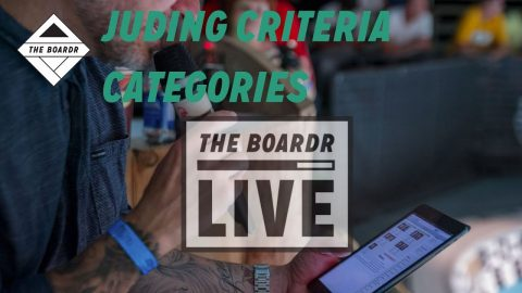 Judging Categories: New in The Boardr Live Actions Sports Scoring App | TheBoardr