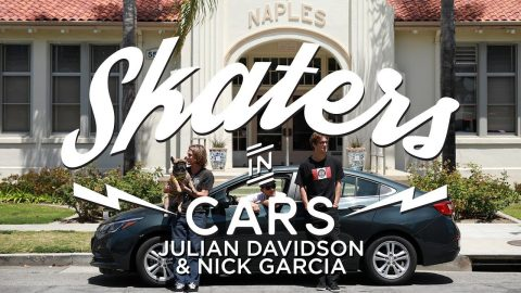 Julian Davidson and Nick Garcia: Skaters In Cars | X Games | X Games