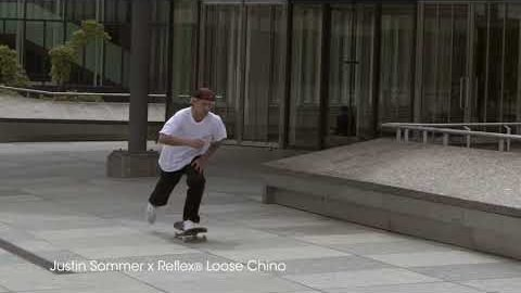 Justin Sommer x Reflex Loose Chino | Reell Teamriders