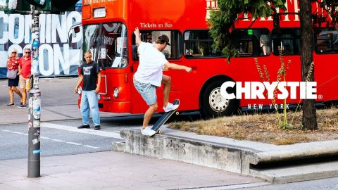 Kai Hillebrand Chrystie NYC Part | Freeskatemag