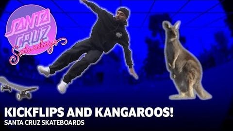 Kangaroos and Kickflips- Maurio McCoy's First Trip to Oz! SANTA CRUZ SATURDAYS | Santa Cruz Skateboards
