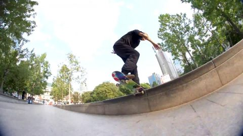 Karl Salah in NB# 'My Road' | Freeskatemag