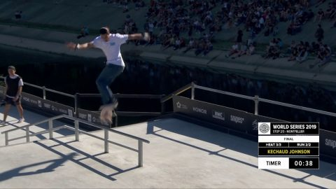 Ke'Chaud Johnson | 1st place - Snipes Skateboard Street Final | FISE Montpellier 2019 | FISE
