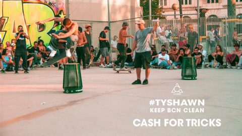 KEEP CLEAN BCN / TYSHAWN / CASH4TRICKS / - Recap | ALCARRER SKATECO.