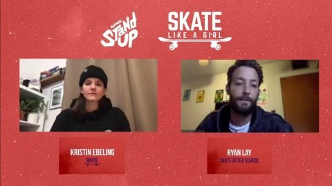 Keep Stand Up and Give Back with Skate Like a Girl!  :  LIVE from Twitch.tv/zumiez | Zumiez