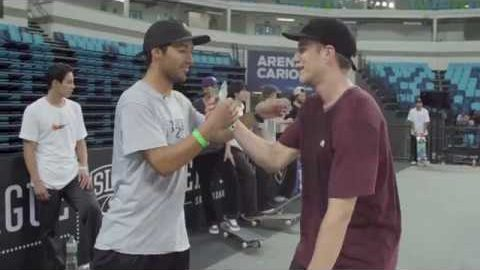 Kelvin Hoefler & Carlos Ribeiro | G-SHOCK Minute To Win It! | SLS