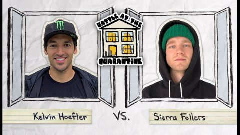 Kelvin Hoefler Vs. Sierra Fellers | BATQ | The Berrics