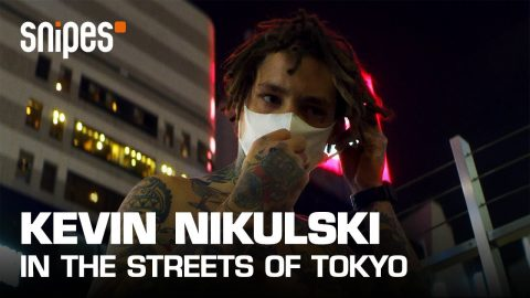 Kevin Nikulski in the streets of Tokyo | SNIPES