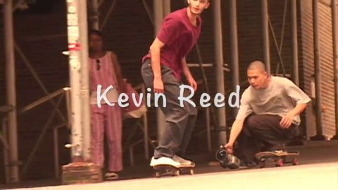Kevin Reed Welcome to the Team | POWskateboards co
