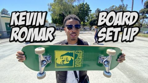 KEVIN ROMAR SKATEBOARD SET UP AND INTERVIEW NKA VIDS | Nka Vids Skateboarding