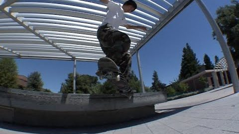 Keyaki Ike Krook Nollie Flip Line Raw Cut | E. Clavel