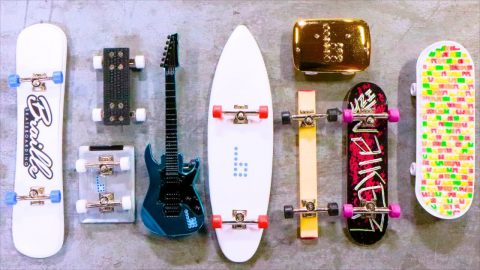 KICKFLIP EVERY FINGERBOARD WIN $10,000 | Braille Skateboarding