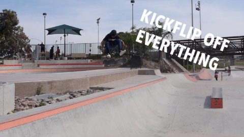 KICKFLIP OFF EVERYTHING | Vinh Banh