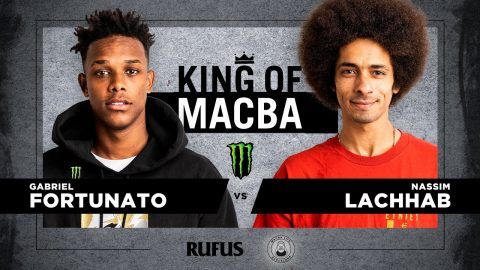 King OF Macba 2020 - Gabriel Fortunato VS Nassim Lachhab. Battle 1 | Macba Life