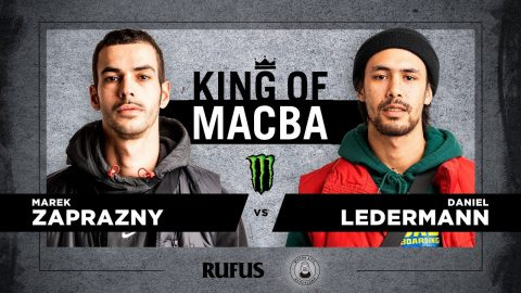 King Of Macba 2020 – Marek Zaprazny VS Daniel Ledermann. Battle 10 | Macba Life