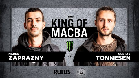 King Of Macba 2020 – Marek Zaprazny VS Gustav Tonnesen. Battle 14 | Macba Life