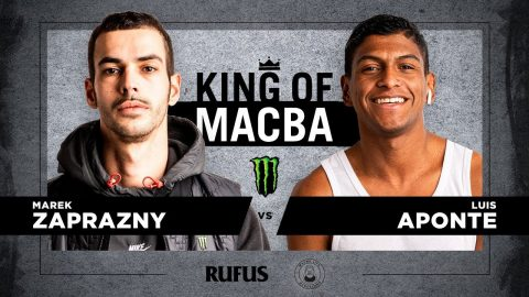 King OF Macba 2020 - Marek Zaprazny VS Luis Aponte. Battle 2 | Macba Life