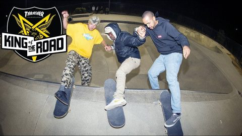 King of the Road Season 3: Three Dudes Skate with Handcuffs | ThrasherMagazine