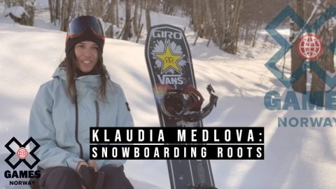 Klaudia Medlova: SNOWBOARDING ROOTS | X Games Norway 2020 | X Games