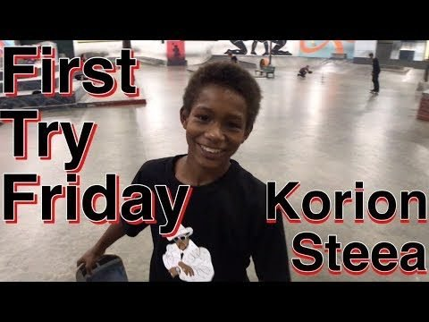 Korion Steea First Try Friday - Joey Brezinski